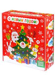 Большой Новогодний подарок Набор из 6 ёлочек в подарочной упаковке