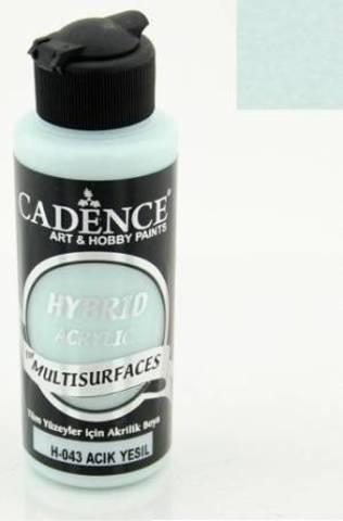 №43 Hybrid Acrylic, Светло-зеленый, 70мл., Cadence