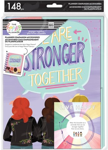 Набор -компаньон для планера-Classic Planner Companion - Stronger Together