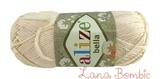 Пряжа Alize Bella 01 молочный