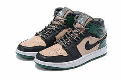 Air Jordan 1 High 'Black/Green/Pink'