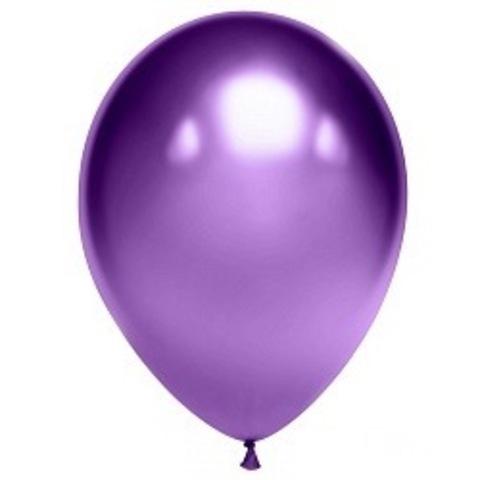 Шар Хром, фиолетовый, 28 см