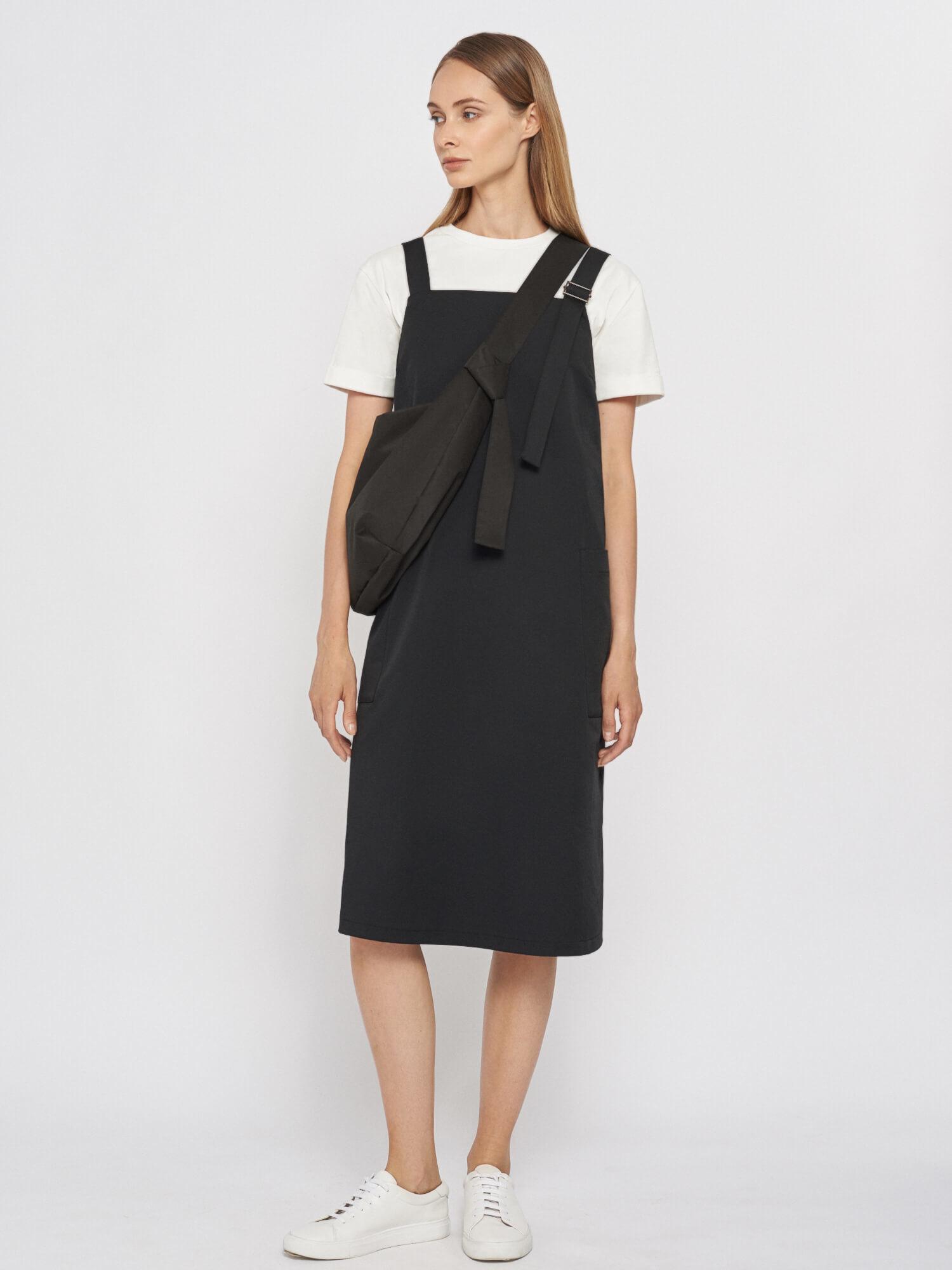 Платье-сарафан Jennifer на бретелях, Черный