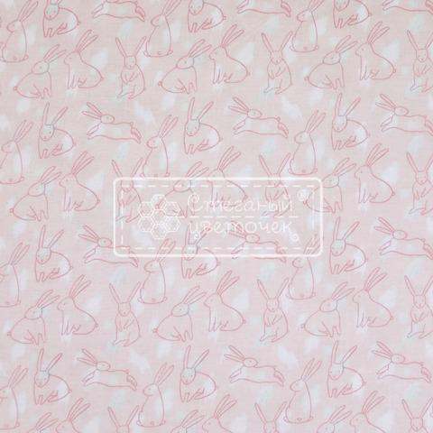 Ткань для пэчворка, хлопок 100% (арт. RB0612)