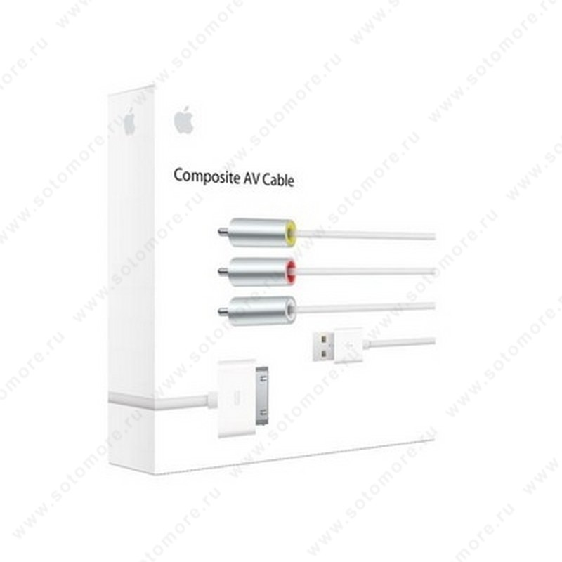Кабель для Apple Composite FV Cable AV композитный