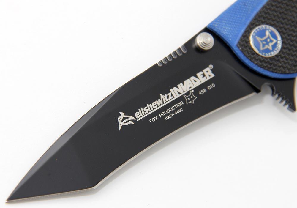 Нож Fox Elishewitz Invader FOX458G10