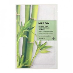 Mizon Joyful Time Essence Mask Bamboo - Тканевая маска для лица с экстрактом бамбука