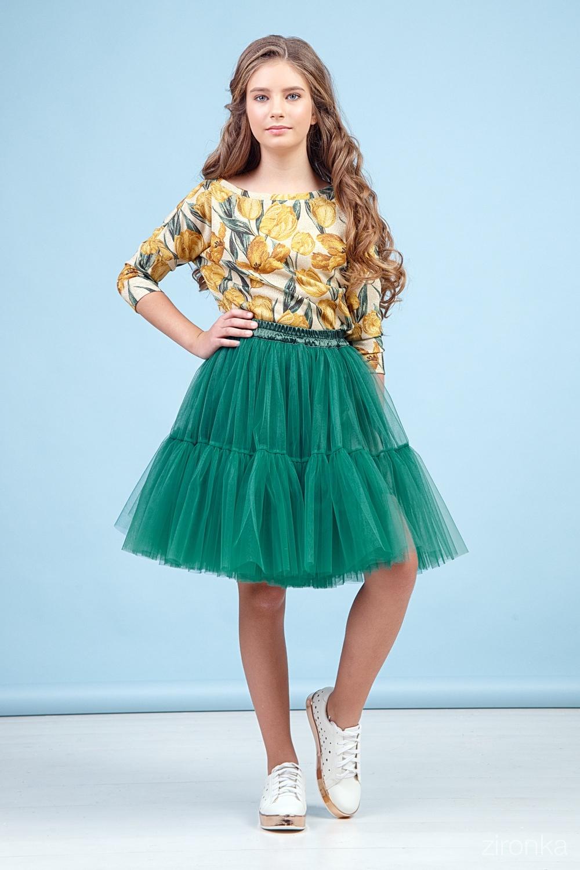 Джемпер разноцветный для девочки 64-9002-3-26
