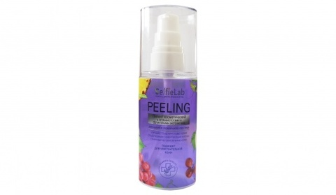 SelfieLab Пилинг косметический с АНА-кислотами для сухой и нормальной кожи 60мл