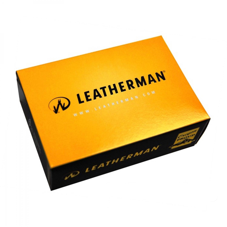 Мультитул Leatherman Crunch, 15 функций, кожаный чехол
