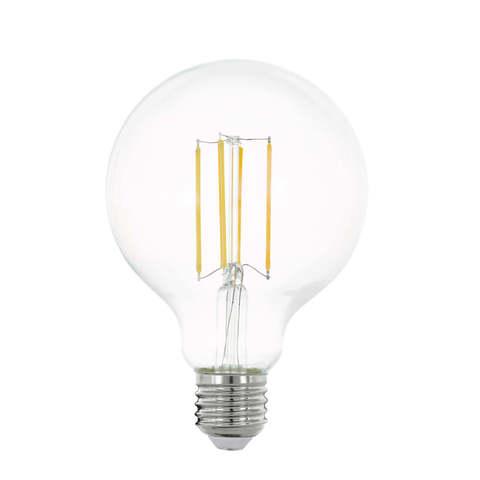 Лампа LED филаментная прозрачная Eglo CLEAR LM-LED-E27 8W 1055Lm 2700K G65 11756