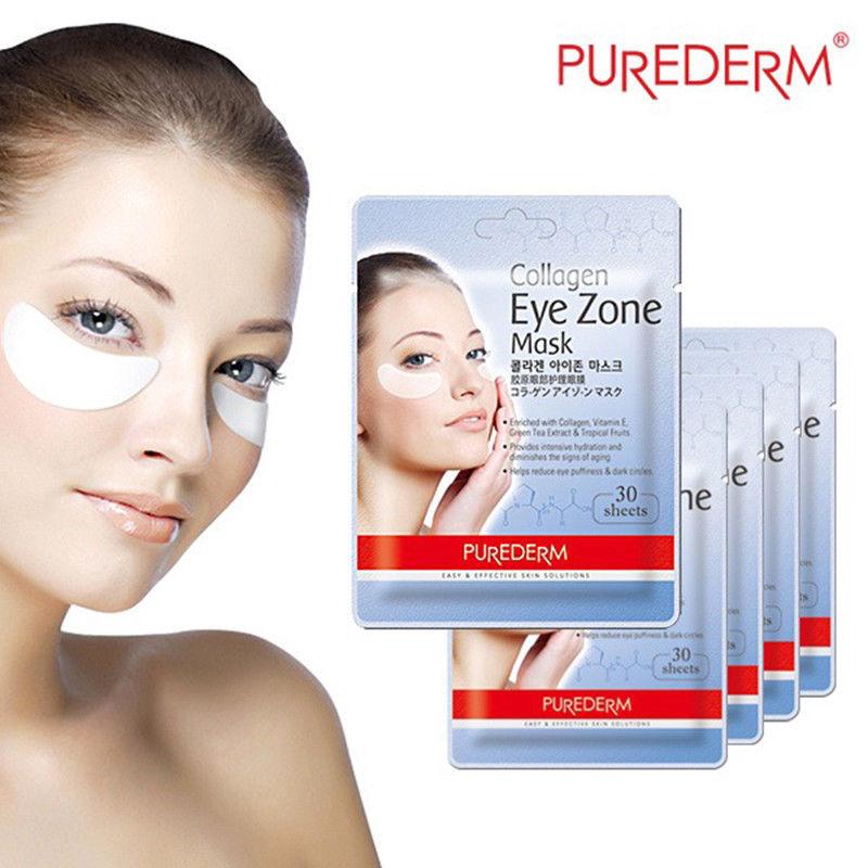 Коллагеновые патчи Purederm Collagen Eye Zone Mask