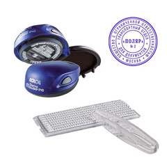 Печать самонаборная круглая Colop Stamp Mouse (двухкруговая R40/2 Set)