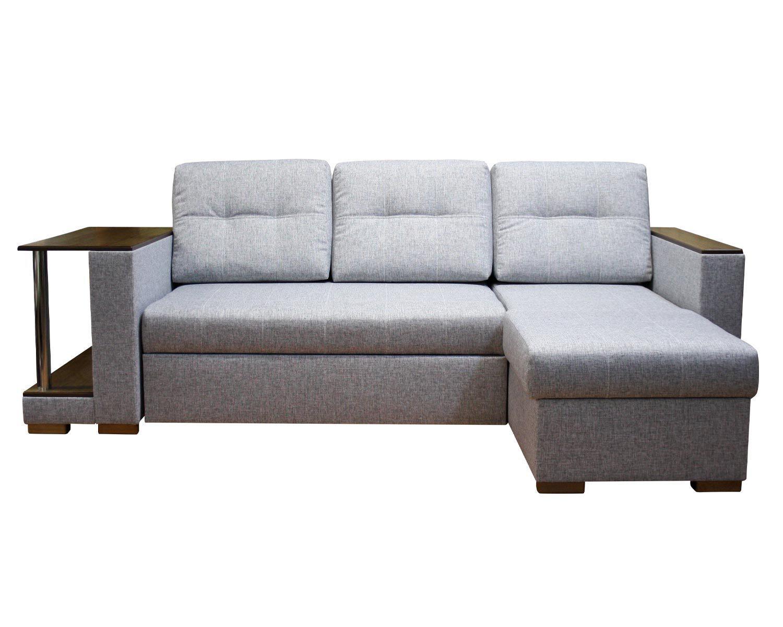 угловой диван-кровать Карелия-Люкс 2д1я со столом