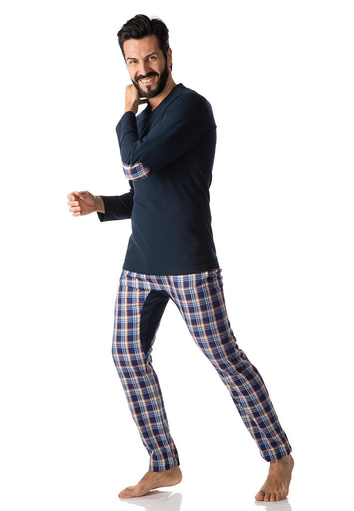 Стильный мужской домашний костюм B&B