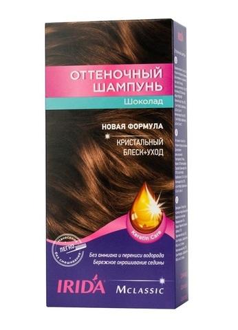 Irida Irida М classic Оттеночный шампунь для окраски волос Шоколад 3*25мл
