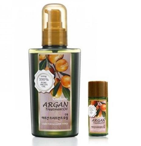 Масло аргановое для волос WELCOS Confume Argan Treatment Oil 120мл и 25мл