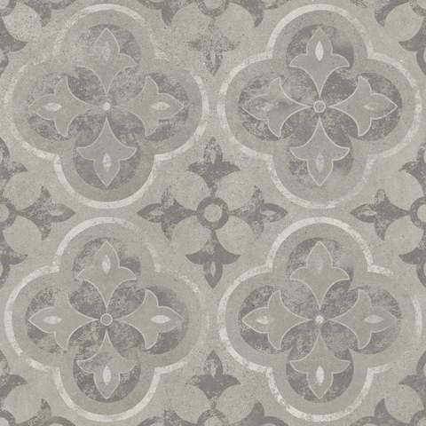 Керамогранит CERSANIT Soul 420x420 серый декор SL4R093