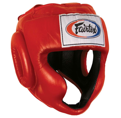 Шлем Fairtex Headguard HG3 Red