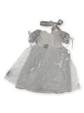 Белое платье - Белый. Одежда для кукол, пупсов и мягких игрушек.