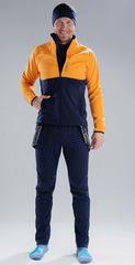 Утеплённый лыжный костюм Nordski Premium Orange-Blueberry 2020 мужской