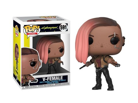 Фигурка Funko Pop! Games: Cyberpunk 2077 - V-Female