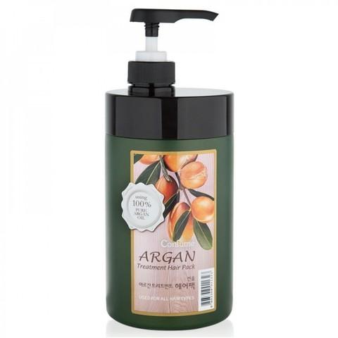 Маска для волос с маслом арганы WELCOS Confume Argan Treatment Hair Pack 1000 гр