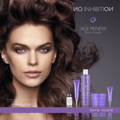 Антивозрастной шампунь age renew revitalizing shampoo NO INHIBITION