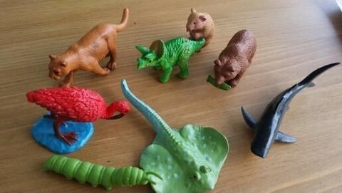 Набор фигурок животных для неговорящих детей