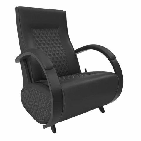 Кресло-глайдер Balance Balance-3 с накладками, венге/Dundi 109, 014.003