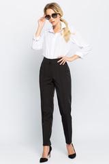 <p>Классические офисные брюки прямого силуэта. Удобная высокая посадка. Длина по внутреннему шву - 77см</p>