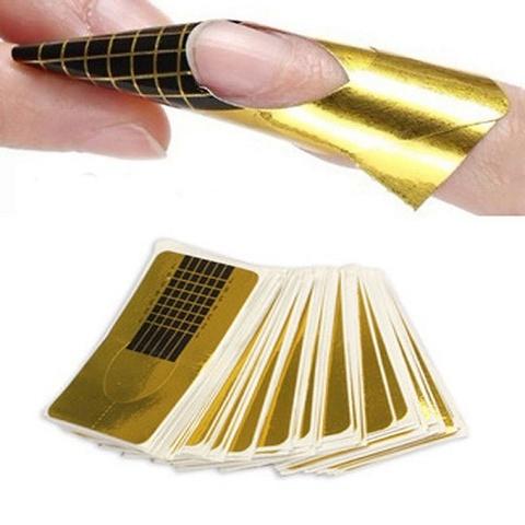 Формы для наращивания ногтей купить 10 шт.