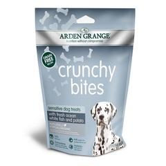 Лакомство для собак с деликатным желудком и/или чувствительной кожей, Arden Grange Crunchy Bites Sensitive