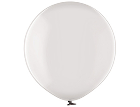 Большой шар кристалл серый