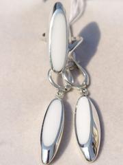 Астера (кольцо + серьги из серебра)