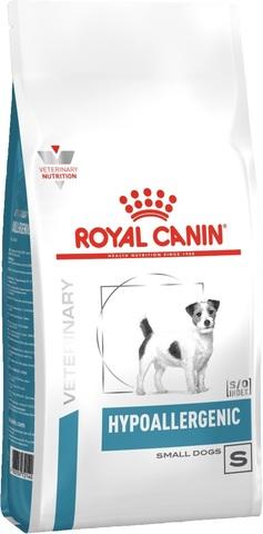Royal Canin Hipoallergenic сухой корм для собак мелких пород при пищевой аллергии 1 кг