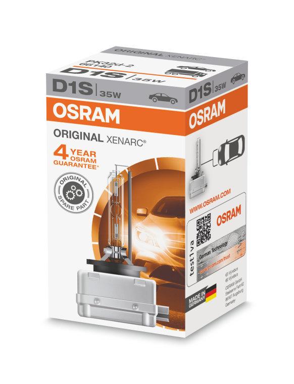 D1S Xenarc ORIGINAL Ксеноновая лампа OSRAM (артикул 66140)