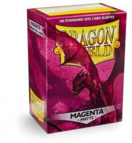 Протекторы Dragon Shield матовые Magenta (100 шт.)