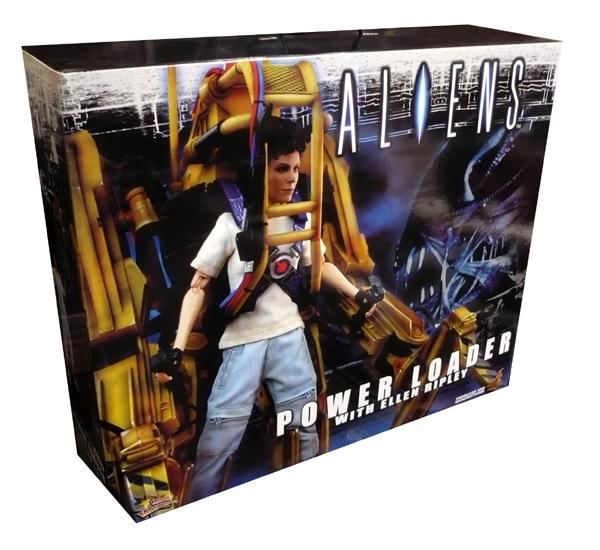 Aliens - Power Loader with Ellen Ripley Model Kit