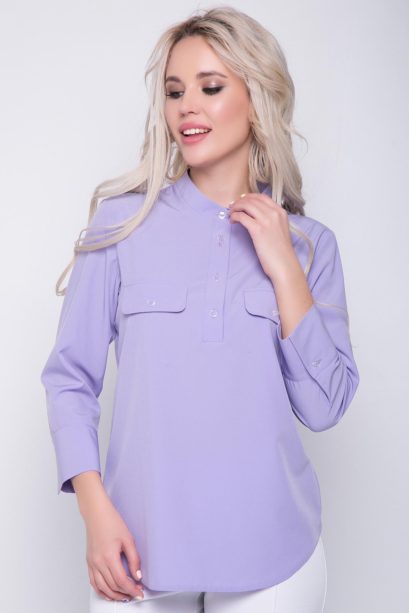 """Рубашка """"Флавия"""" (сирень)"""