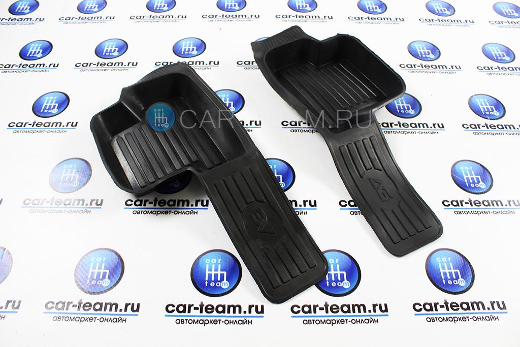 Коврики пола боковые, резиновые на ВАЗ 2113-14-15