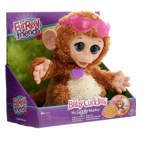FurReal Friends интерактивная игрушка Моя Озорная Обезьянка