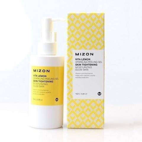 MIZON Lemon Пилинг-гель с экстрактом лимона VITA LEMON SPARKLING PEELING GEL 150 мл