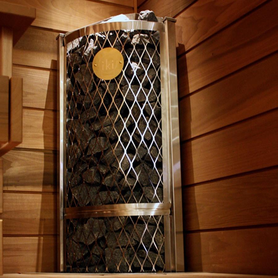Печь для сауны IKI угловая, фото 4