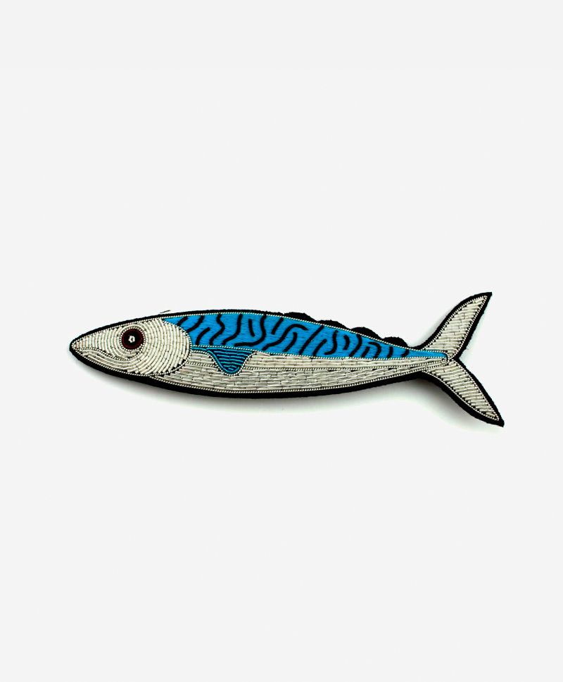 Брошь Mackerel
