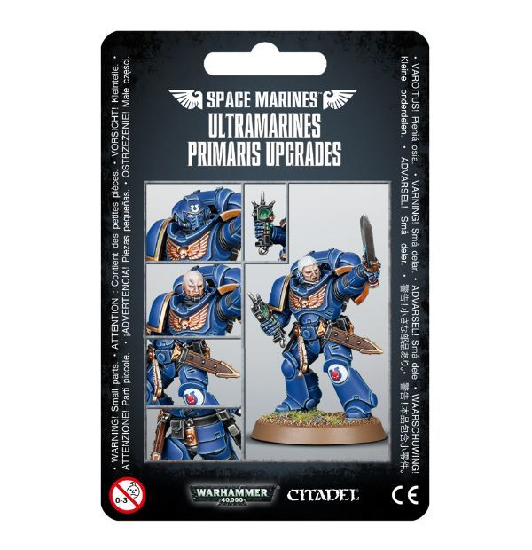 Ultramarines Primaris Upgrades