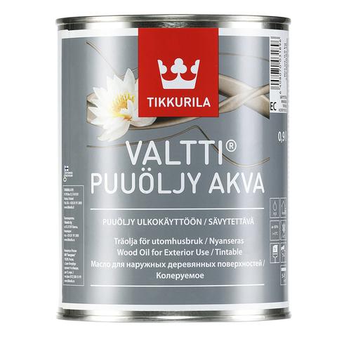 Tikkurila Valtti Akva/Тиккурила Валтти Аква водоразбавляемое масло для защиты дерева