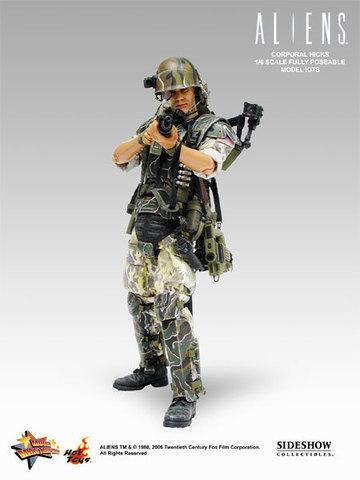 Aliens - USCM Colonel Hicks 12 inch model kit