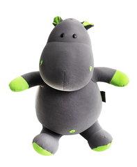 Подушка-игрушка антистресс «Бегемот Няша», зеленый 1