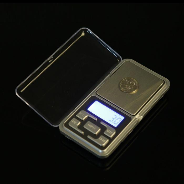 Весы портативные, электронные, до 500 гр фото